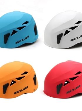 亚马逊爆款GUB D6户外运动攀岩探洞头盔 救援登山安全帽攀岩装备