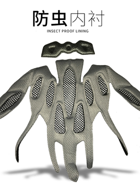 骑行头盔内衬公路车山地车自行车头盔内衬海绵垫通用配件带防虫网