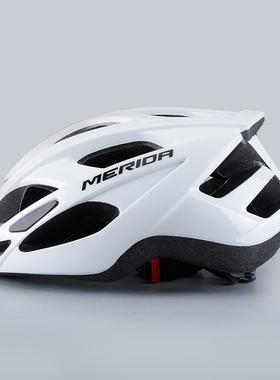 美利达头盔山地自行车骑行头盔帽子男女安全帽公路车装备一体成型