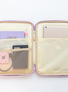 2020新款iPad收纳袋适用pro10.5内胆包air2苹果平板电脑包10.9老款iPad12.9/9.7寸11英寸m3华为matepad保护套