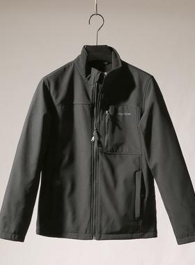 三防面料 硬朗有型 外贸工厂男装 秋冬薄绒立领外套上衣百搭夹克